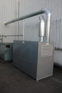 nettoyage centralisé : caisson turbines